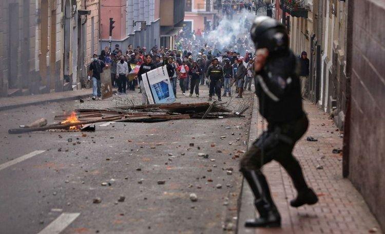 ecuador crisis toque de queda 2019 conflicto