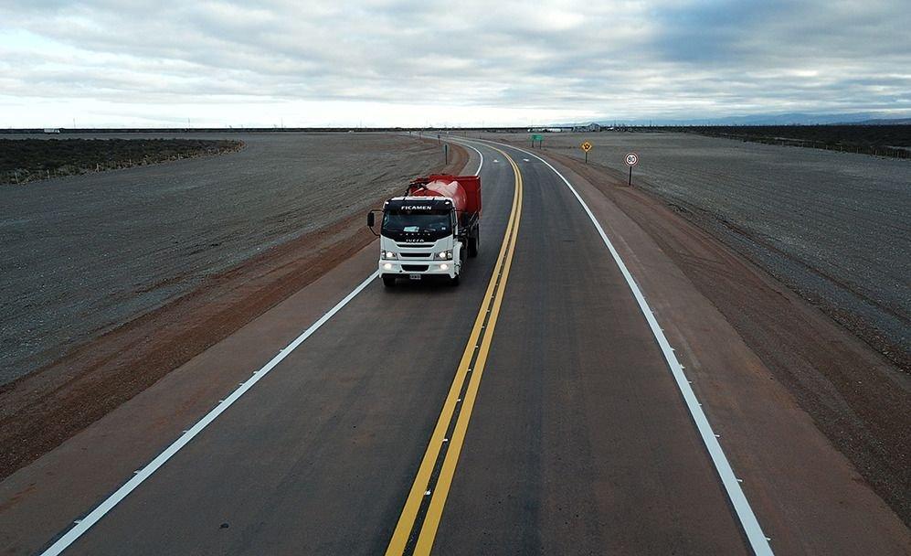 La Ruta 40 Sur fue elegida como la obra vial del año