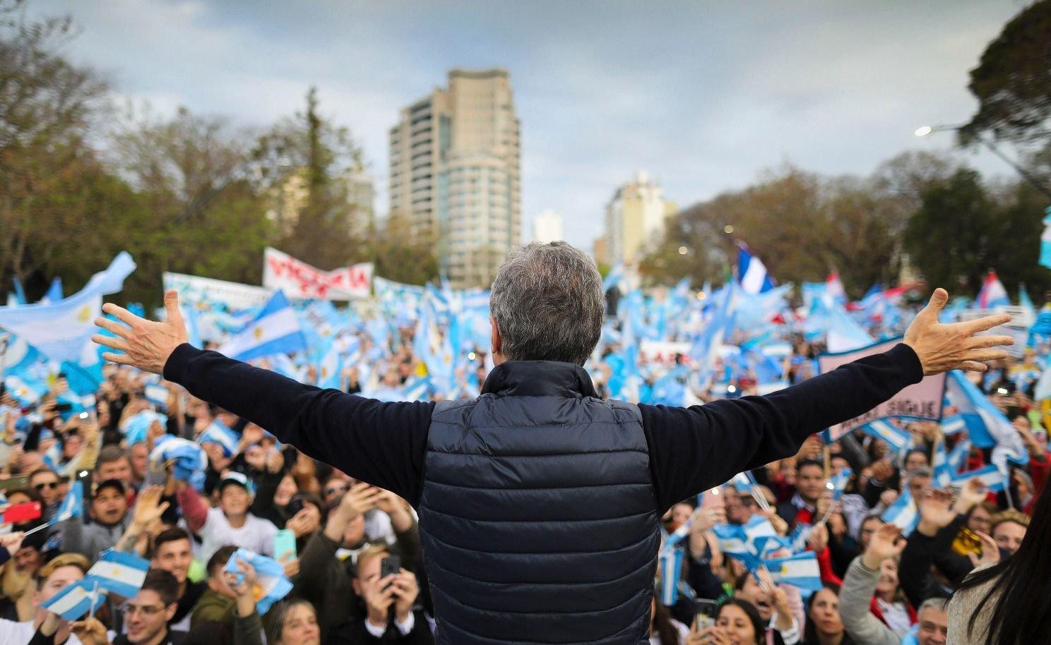 Mauricio Macri encabeza esta tarde la 'marcha del millón' en el Obelisco