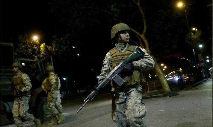 Piñera decretó el Estado de Emergencia y los militares volvieron a ocupar las calles