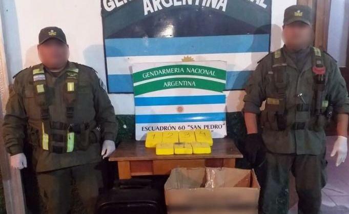 Jujuy | Ocultaba más de siete kilos de cocaína en un parlante y quedó detenido