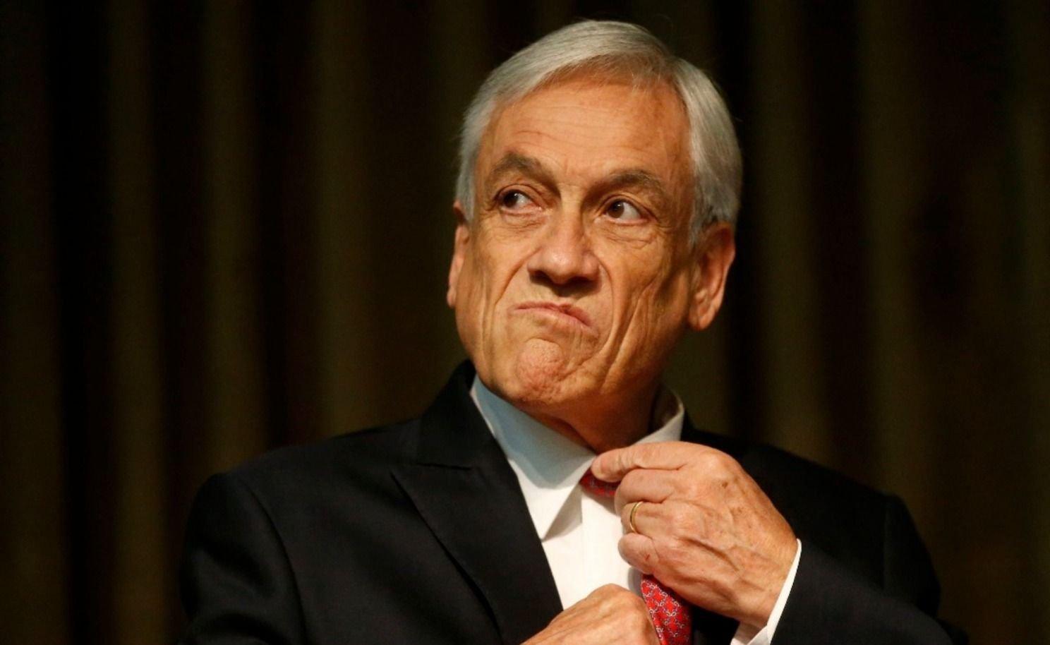 Luego de los incidentes Sebastián Piñera suspendió el aumento del subte