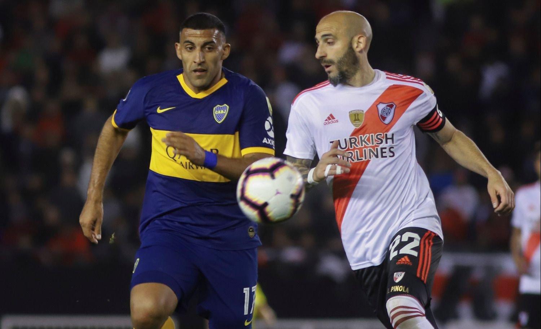 En La Bombonera, Boca y River dirimen el primer finalista de la Copa Libertadores