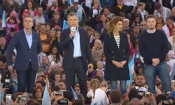"""Macri en Rosario: """"Hoy estamos mejor parados que hace cuatro años"""""""