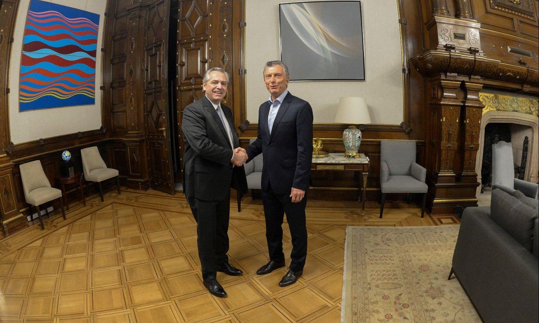 Macri le pasará el mando a Fernández en el Congreso de la Nación