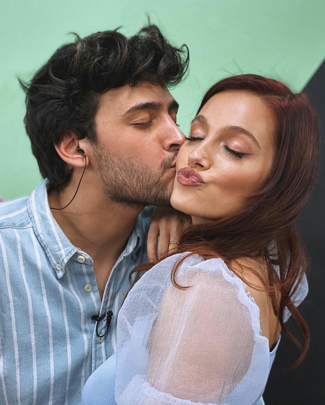 Lizardo Ponce y Oriana Sabatini bailaron juntos