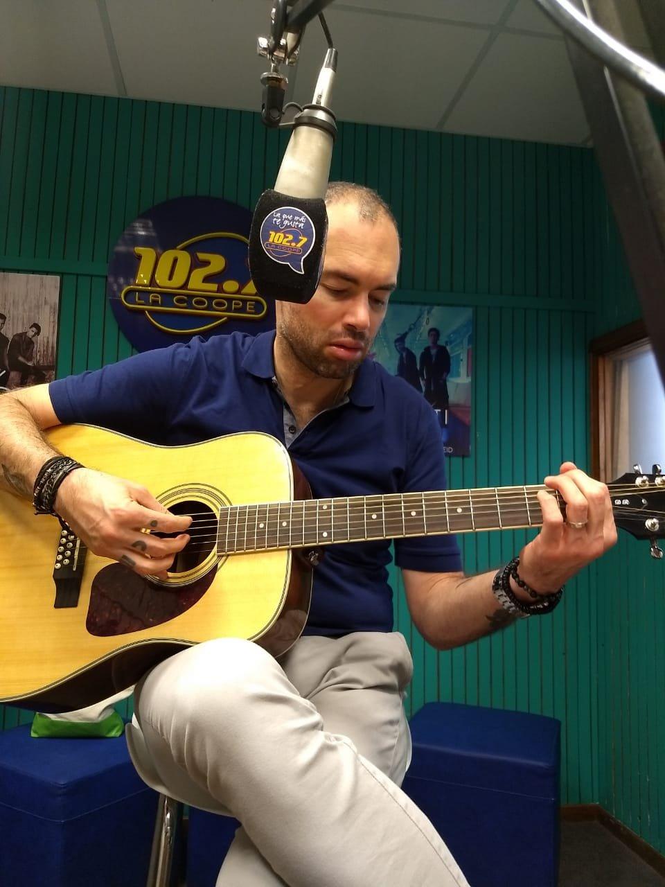 Santiago Cruz habló con Pau en Bien de Mañana