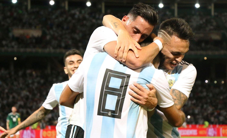 La Selección argentina derrotó a México y dejó una buena imagen