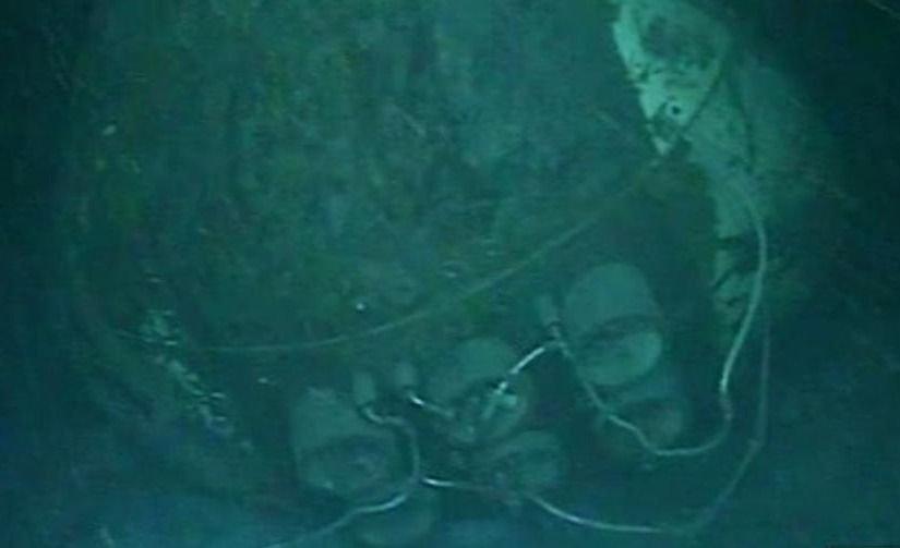 Aseguran que es prácticamente imposible reflotar el submarino