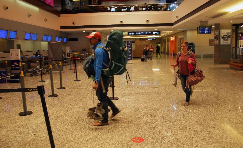 Demoras en partidas y arribos de vuelos en el aeropuerto de Mendoza
