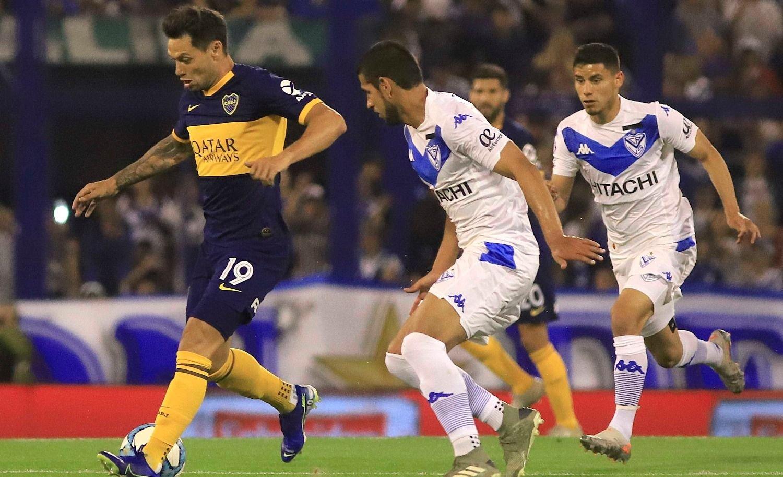 Boca y Vélez igualan en Liniers