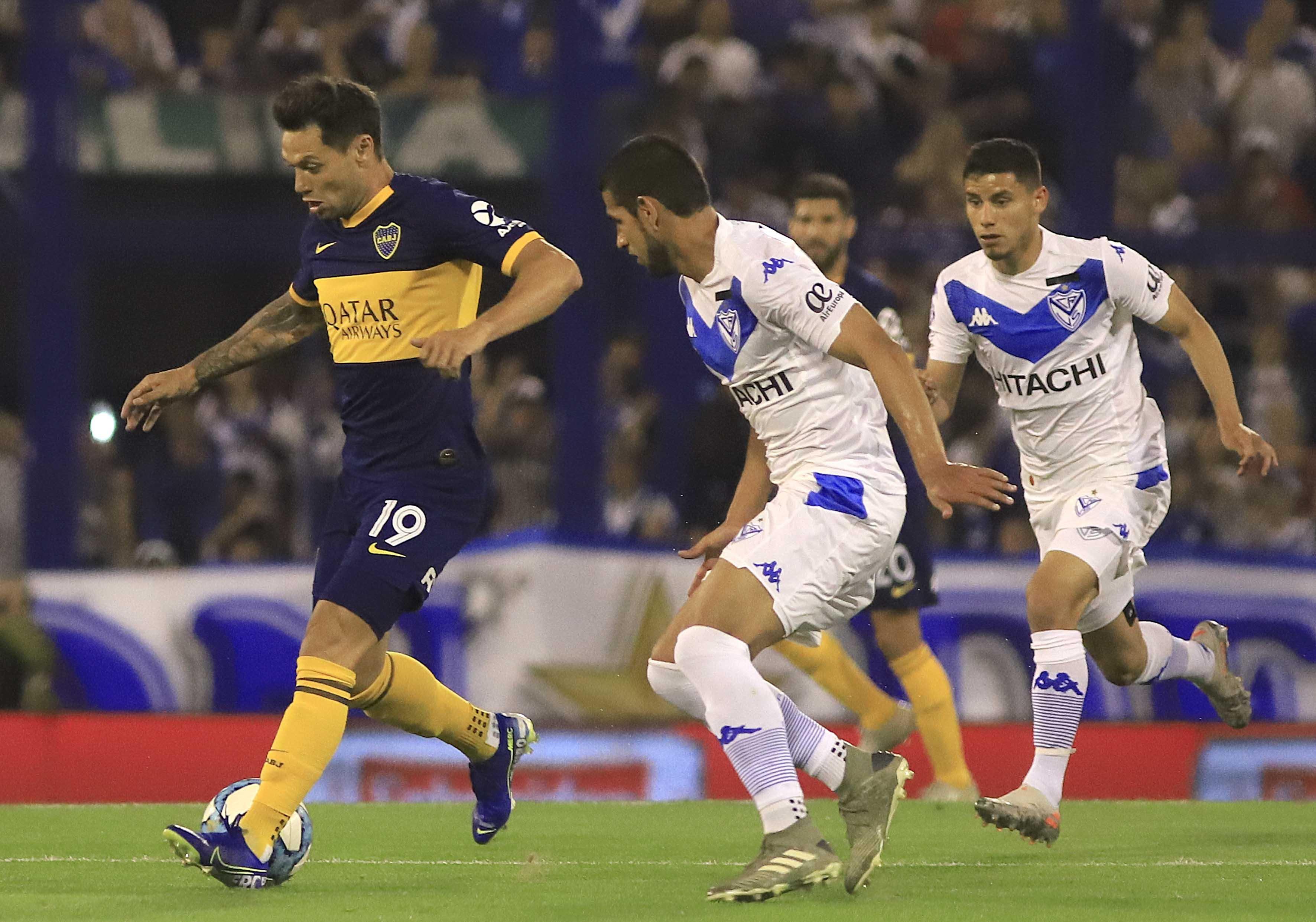 Boca Juniors Vélez Sarsfield Superliga Gustavo Alfaro Gabriel Heinze Liniers