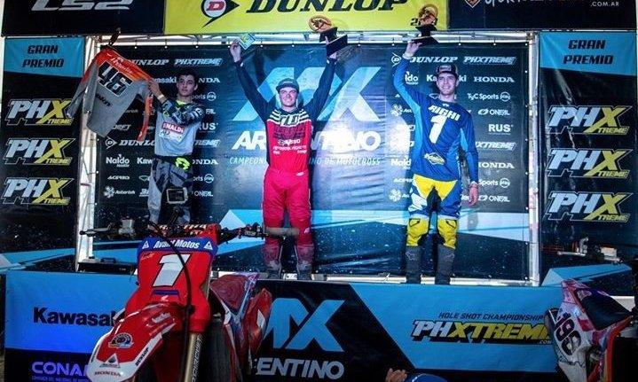Luciano Righi, otro mendocino que se consagró en el Argentino de Motocross