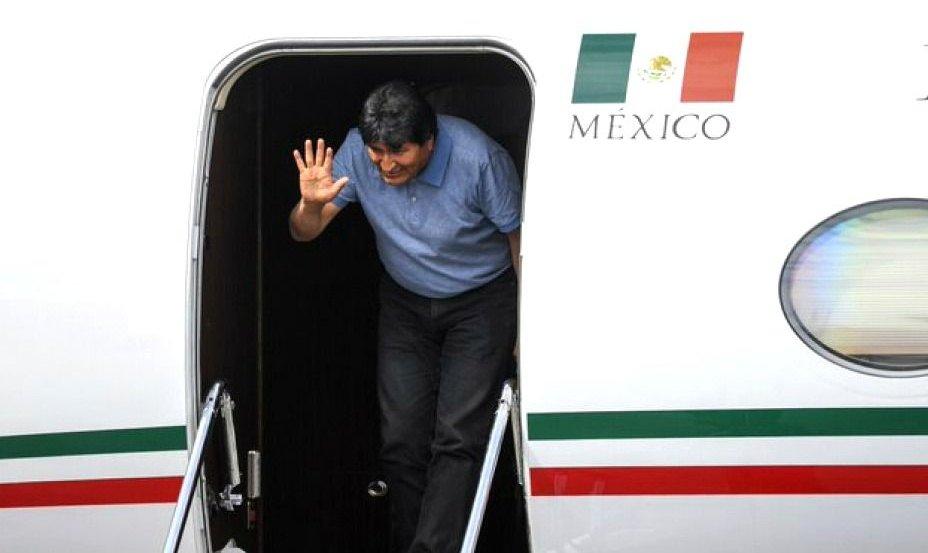 """Evo Morales llegó a México: """"Mientras tenga vida, seguiré en la lucha"""""""