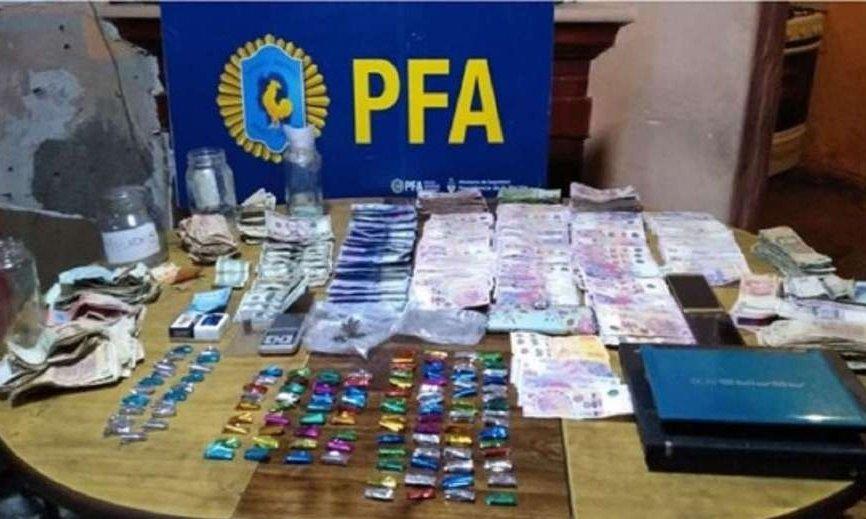 Mendoza: cayó un clan narco y secuestraron cocaína, marihuana y LSD