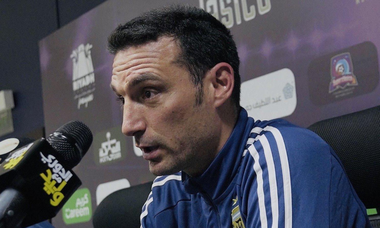 "Lionel Scaloni: ""Pensamos de qué manera hacerle daño a Brasil"""
