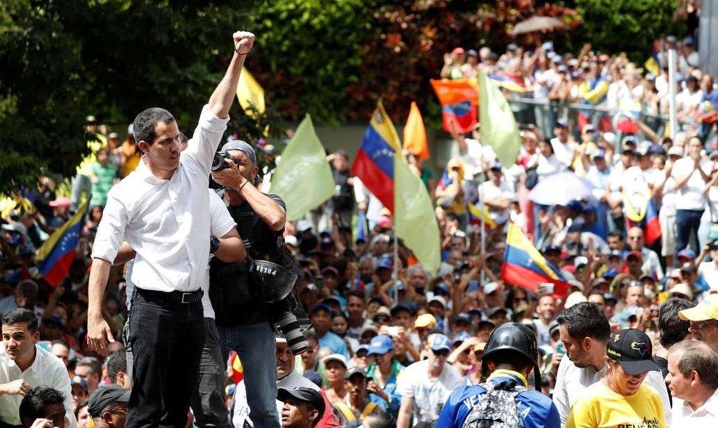 "Venezuela: Guaidó llamó a ""protestas permanentes"" hasta derrocar a Maduro"