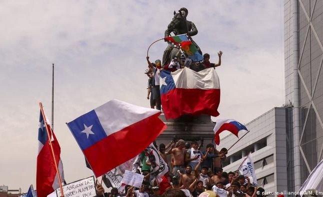 Crisis en Chile y Bolivia: las reacciones de la gente que no se ven
