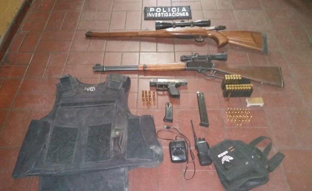 Mendoza: secuestraron armas en la 'Triple Frontera' y hay dos detenidos