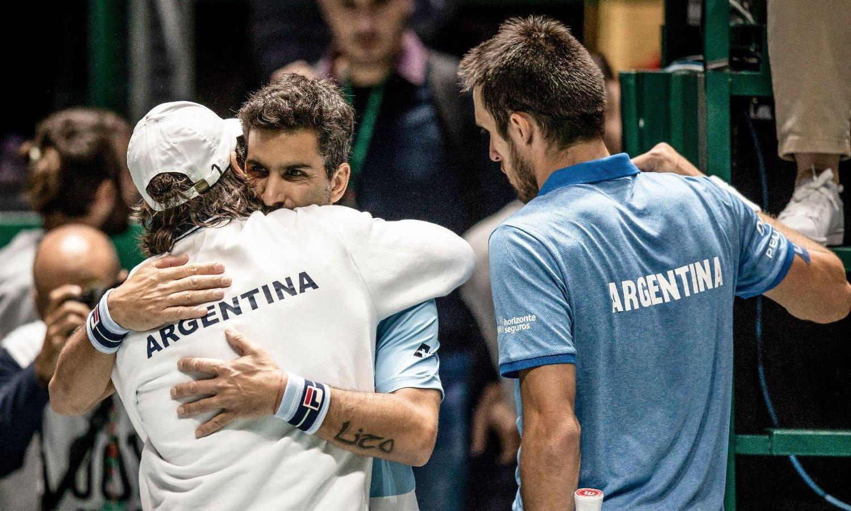Argentina clasificó a cuartos en la Davis y enfrentará a España