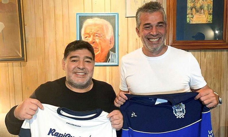 """Pellegrino confirmó una posible """"unidad"""" y Maradona podría quedarse"""