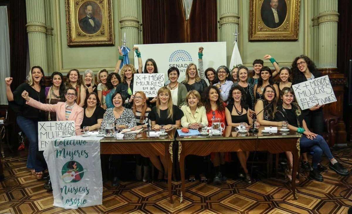 Diputados aprobó la ley de Cupo Femenino en festivales musicales