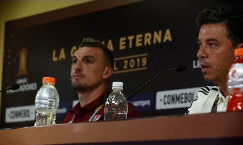 Copa Libertadores: Gallardo confirmó el equipo para enfrentar a Flamengo