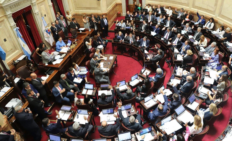 El Senado nacional vota el Presupuesto y el oficialismo cuenta con los votos