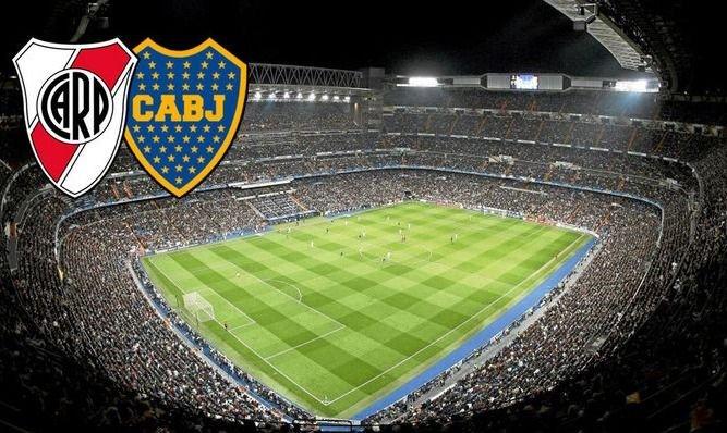 """Madrid tendrá """"Fan Zone"""" para los hinchas de River y Boca"""