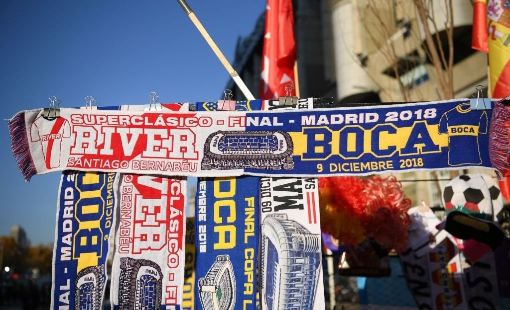 Todo el color que dejó la final entre River y Boca Madrid