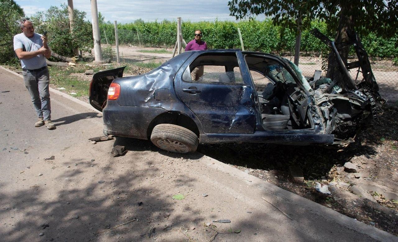 Cinco jóvenes lesionados por un grave accidente en ruta 7