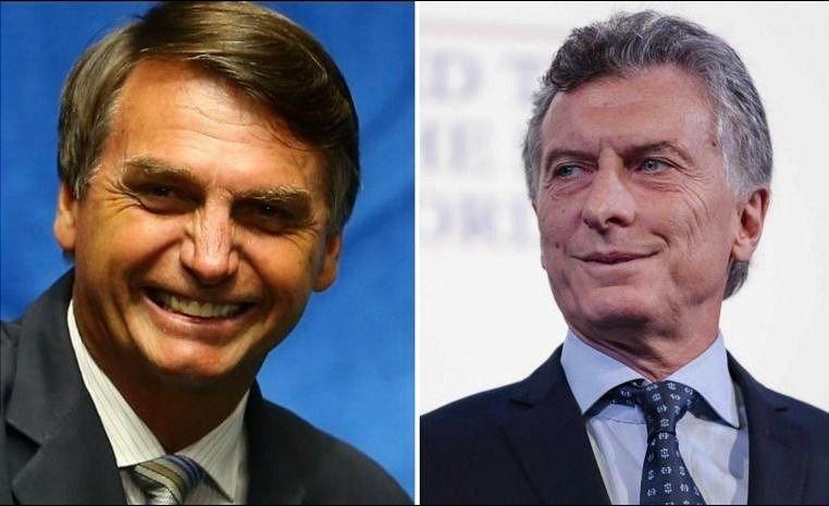 Macri y Bolsonaro se reunirán en enero en Brasilia