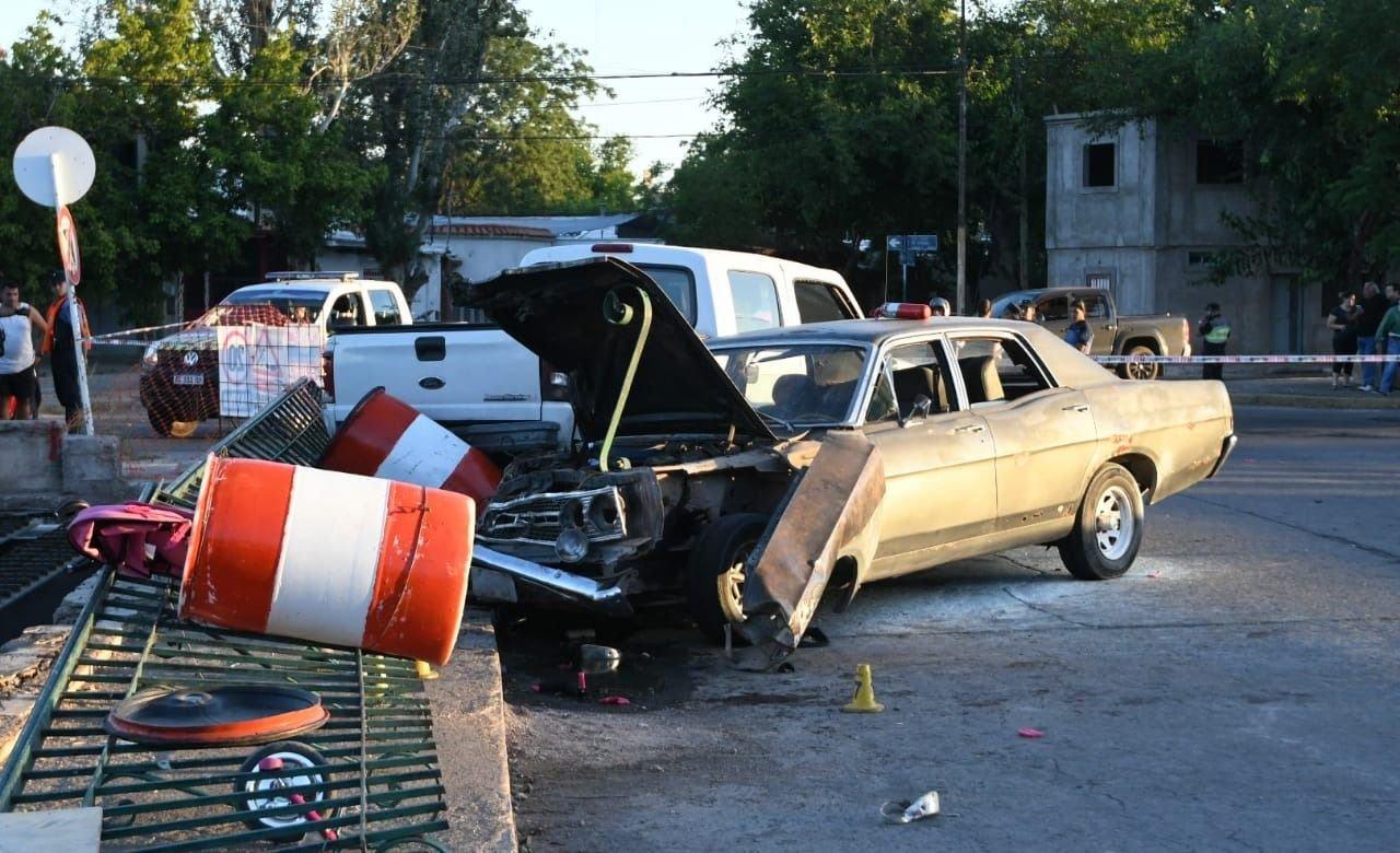 Guaymallén | Murió uno de los niños involucrados en el triple choque de Costanera y Matienzo