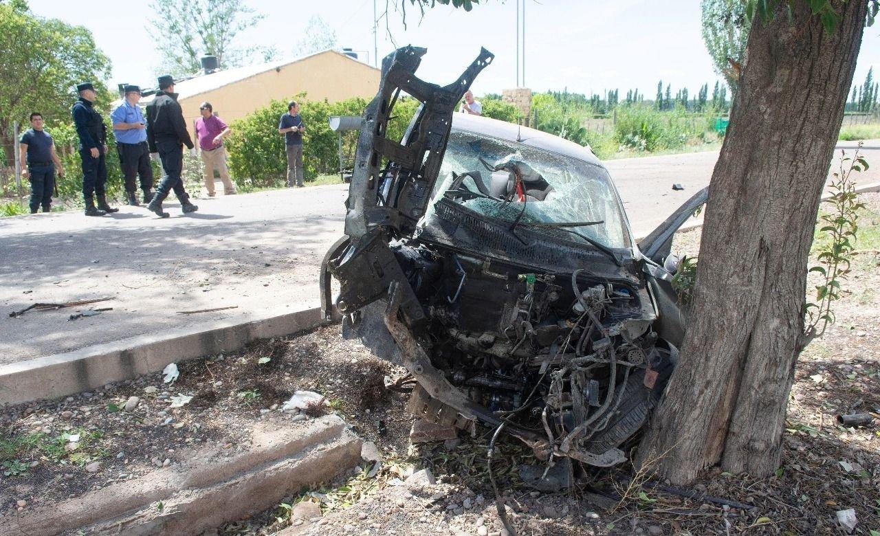 Falleció uno de los jovenes accidentados en la Ruta 7
