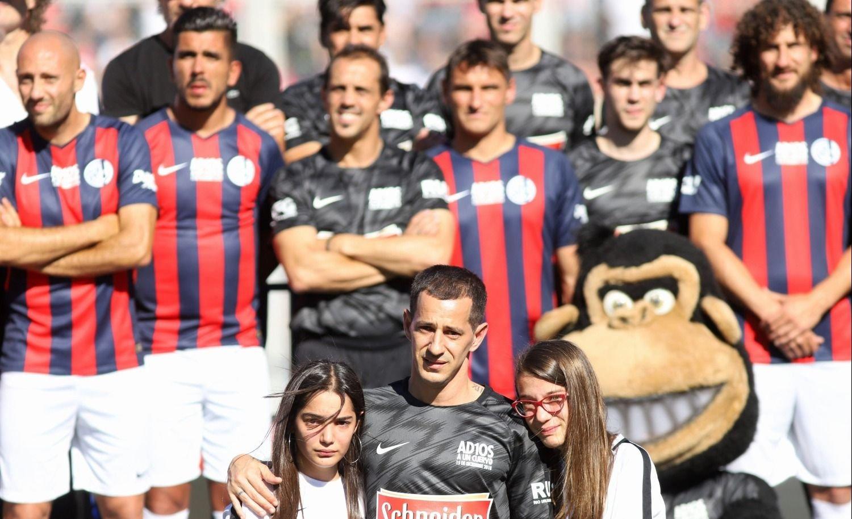 Leandro Romagnoli se despidió como jugador profesional de San Lorenzo