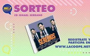 Este CD de Ismael Serrano tiene que ser tuyo!